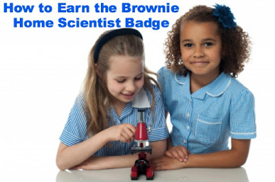 How to Earn the Brownie Home Scientist Badge-Complete Meeting Plans and Resources