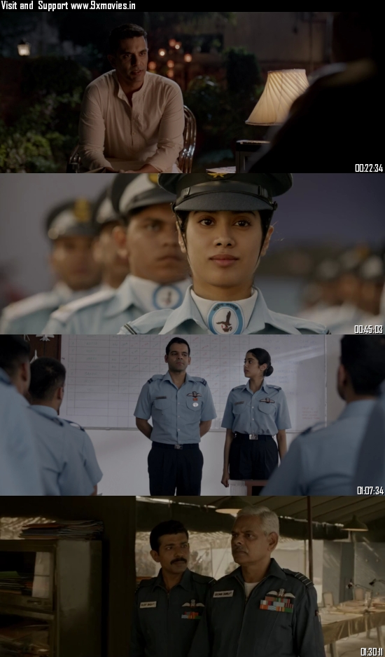 Gunjan Saxena The Kargil Girl 2020 Hindi 720p WEB-DL 850MB