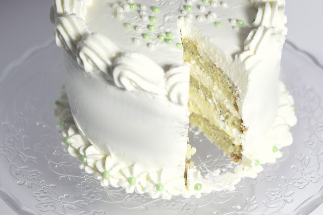 tarta-de-lima, lime-layer-cake