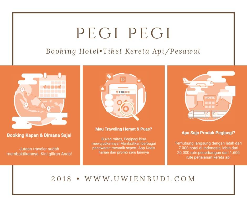 Salah satu rekomendasi aplikasi untuk memesan tiket kereta adalah  Pegi-Pegi. Keunggulan Pegi-Pegi menurut saya diantaranya  47cb3642b8