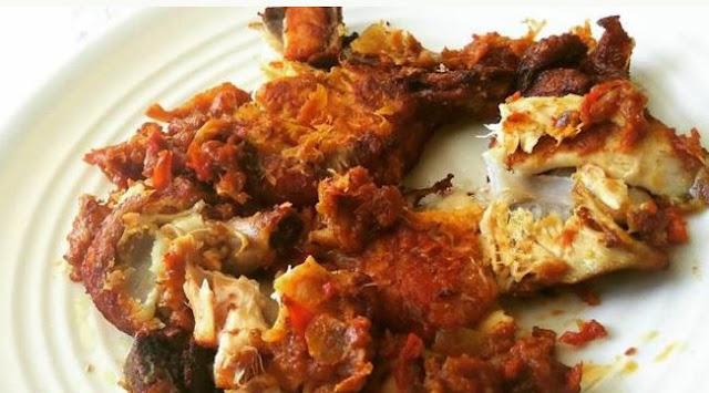 resep ayam geprek ayam penyet keto