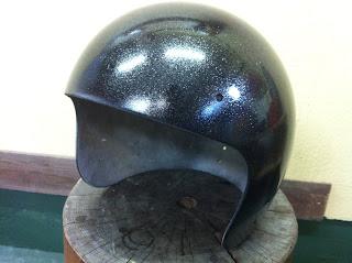 910684909 - カスタムペイント工程  ジェットヘルメット 祭雲天女