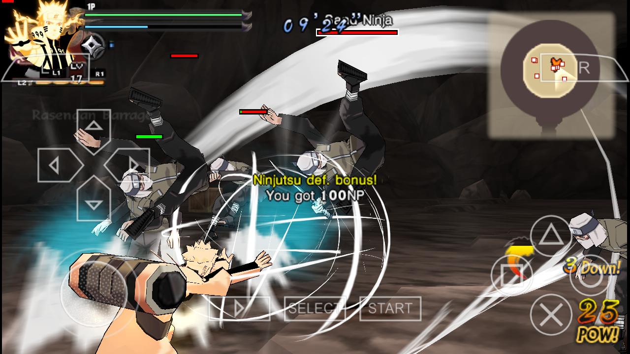 Naruto Shippuden Ultimate Ninja Storm 4 Mod Textures PPSSPP