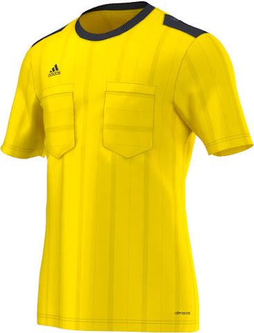 4cad9c4ed Adidas revealed four traditional colors for the new UCL Referee Jersey  ( Bright Red