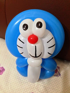 Gambar Balon Ulang Tahun Anak Yang Lucu Karakter Doraemon