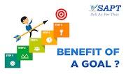 Benefits of Goal