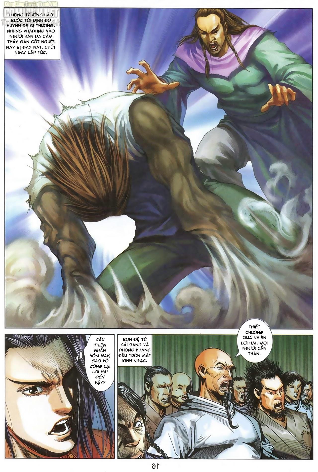 Anh Hùng Xạ Điêu anh hùng xạ đêu chap 67: quyết chiến hiên viên đài trang 15
