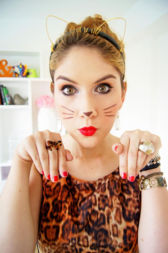 Last Minute Cat Halloween Costume
