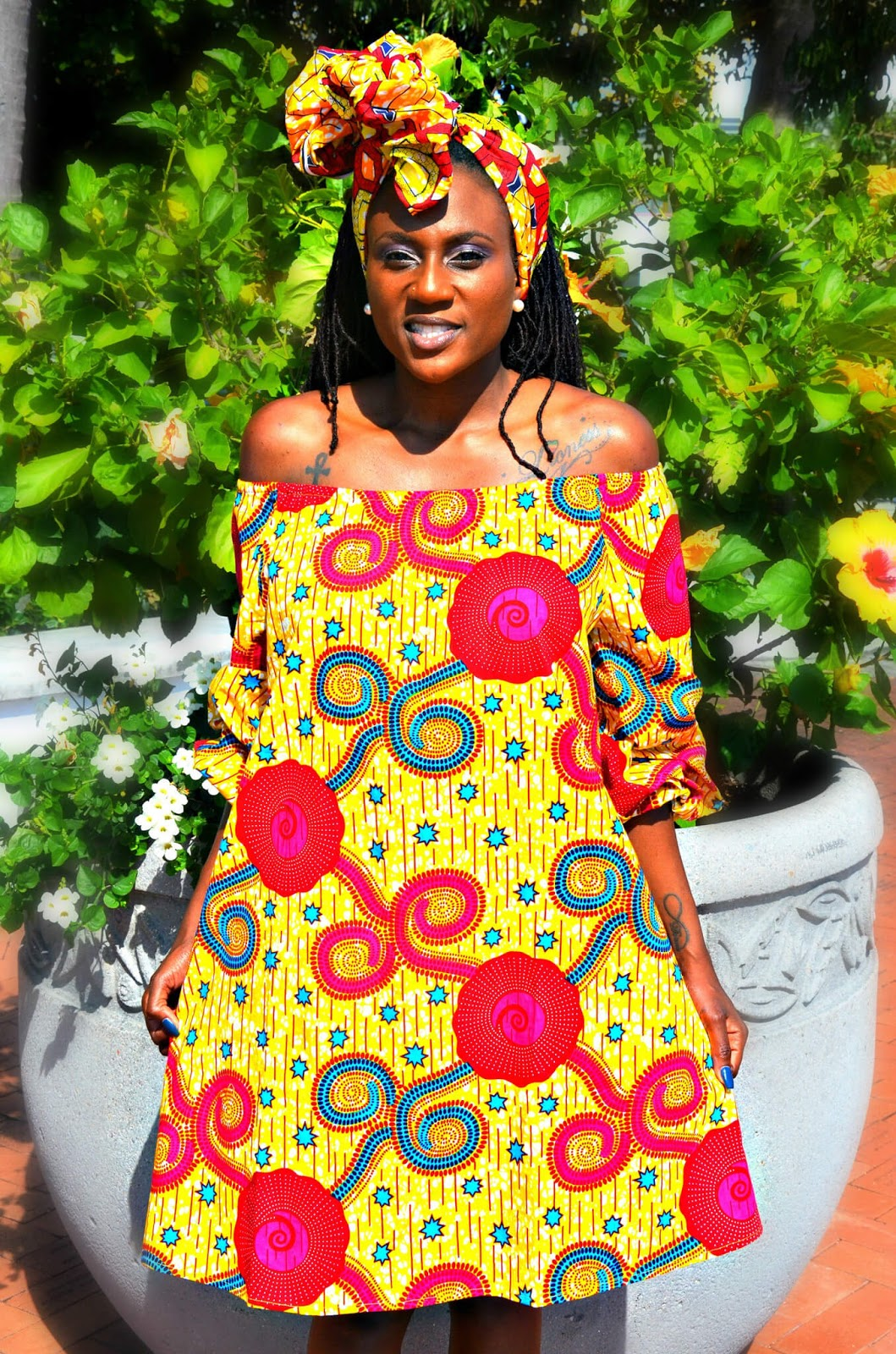 Ankara, African dresses, Fashion
