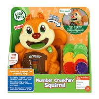 Leap Frog Number Crunching Squirrel