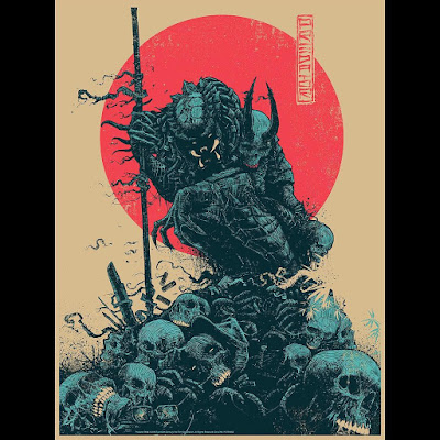 "New York Comic COn 2017 Exclusive Predator ""Hunter"" Screen Print by Godmachine x Bottleneck Gallery"