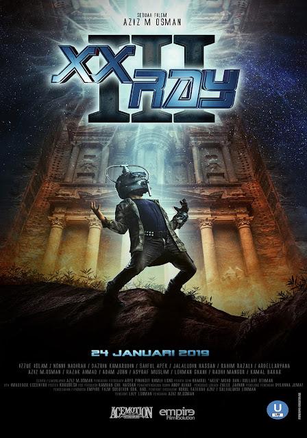 poster filem XX Ray 3