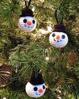 http://www.ravelry.com/patterns/library/snowman-head-ornaments