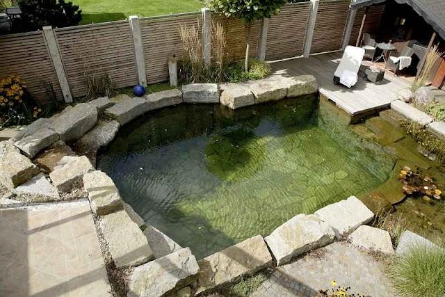 Φυσική πισίνα στον κήπο σας