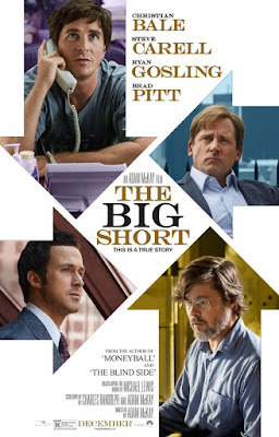 big short film recenzja plakat christian bale ryan gosling