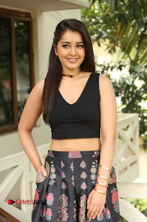 Actress Rashi Khanna Pictures at Hyper Movie Interview 0146