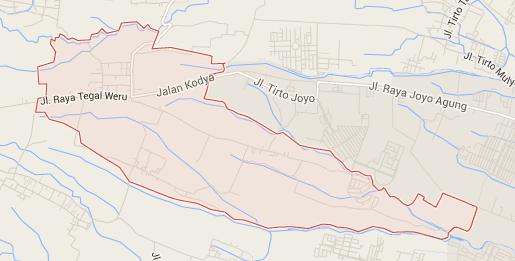 Tegalweru Kecamatan Dau Kabupaten Malang Profil Desa