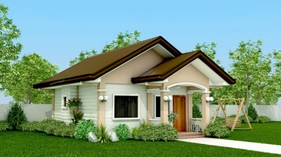 50 Photos Of Small Custom Home Designs: Bungalow House Design ...