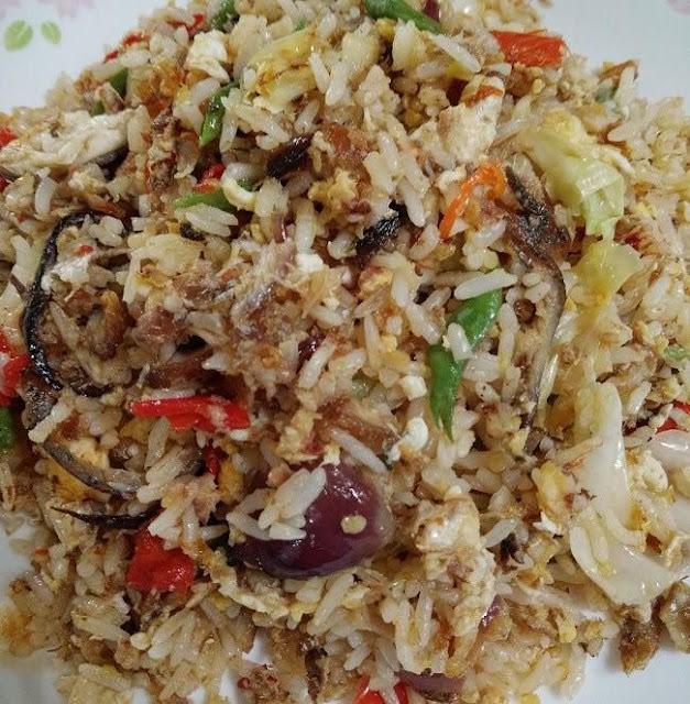 Resepi Nasi Goreng Cili Padi Ikan Tumbuk