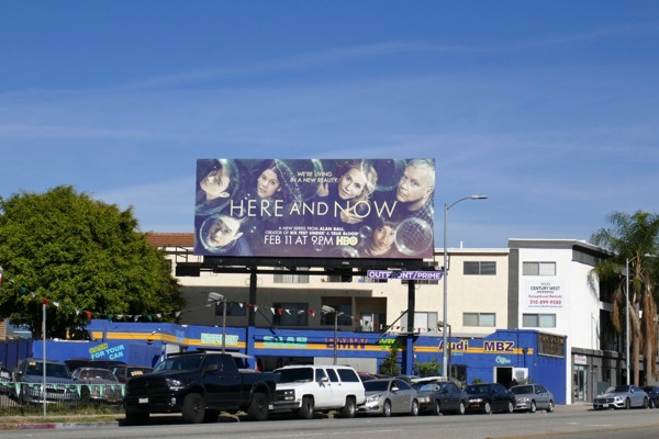 Here and Now HBO series billboard