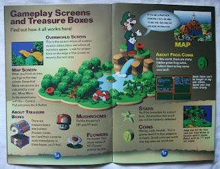 Super Mario RPG - Legend Of The Seven Stars - Manual interior