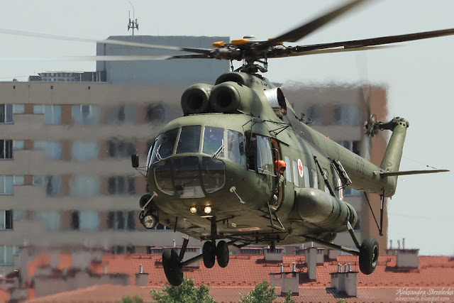 Śmigłowiec Mi-8 -  Małopolski Piknik Lotniczy
