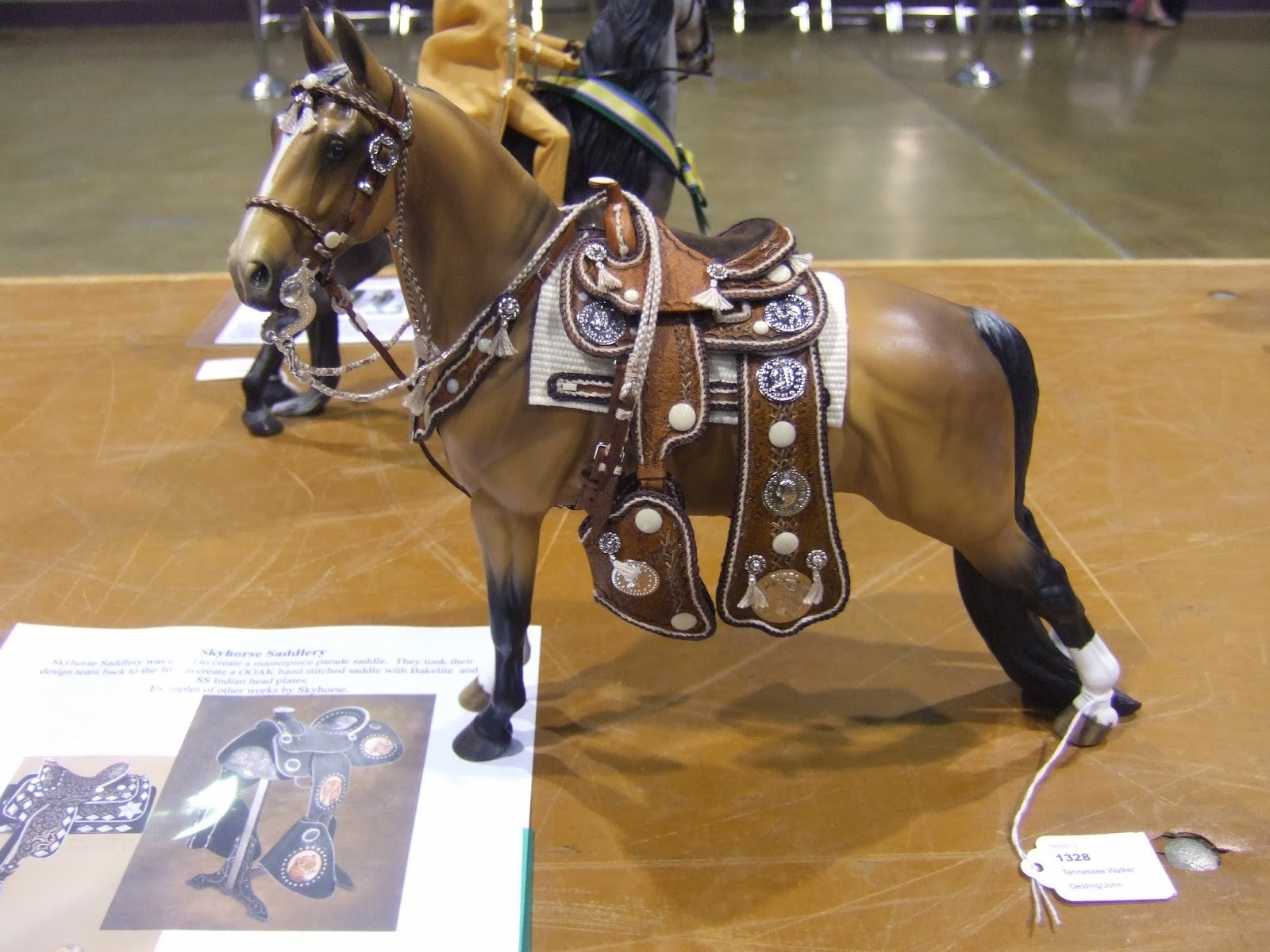 Marilyn's Hobby : Model Horse Western Tack, Showing and Judging