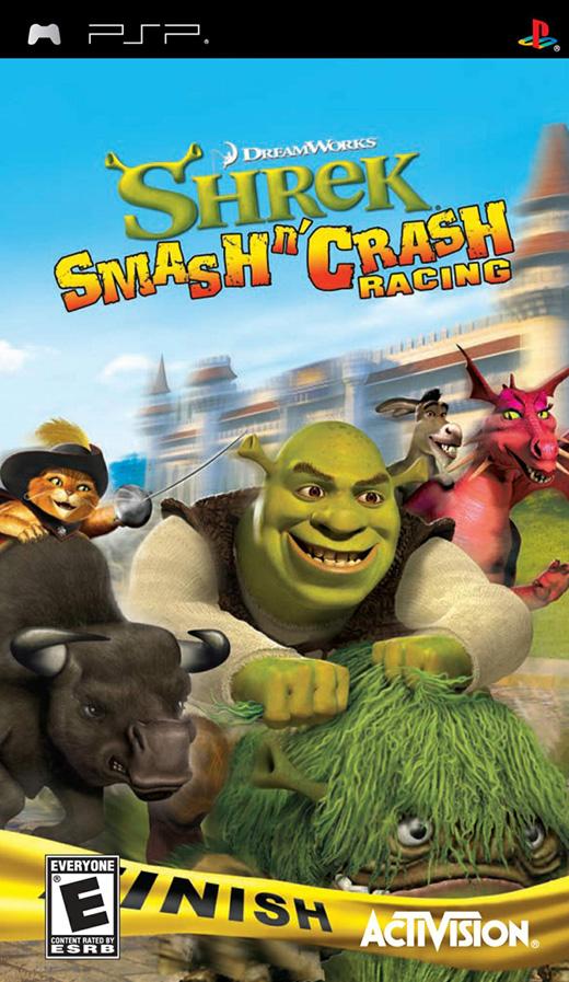 Shrek Smash N Crash Racing ***