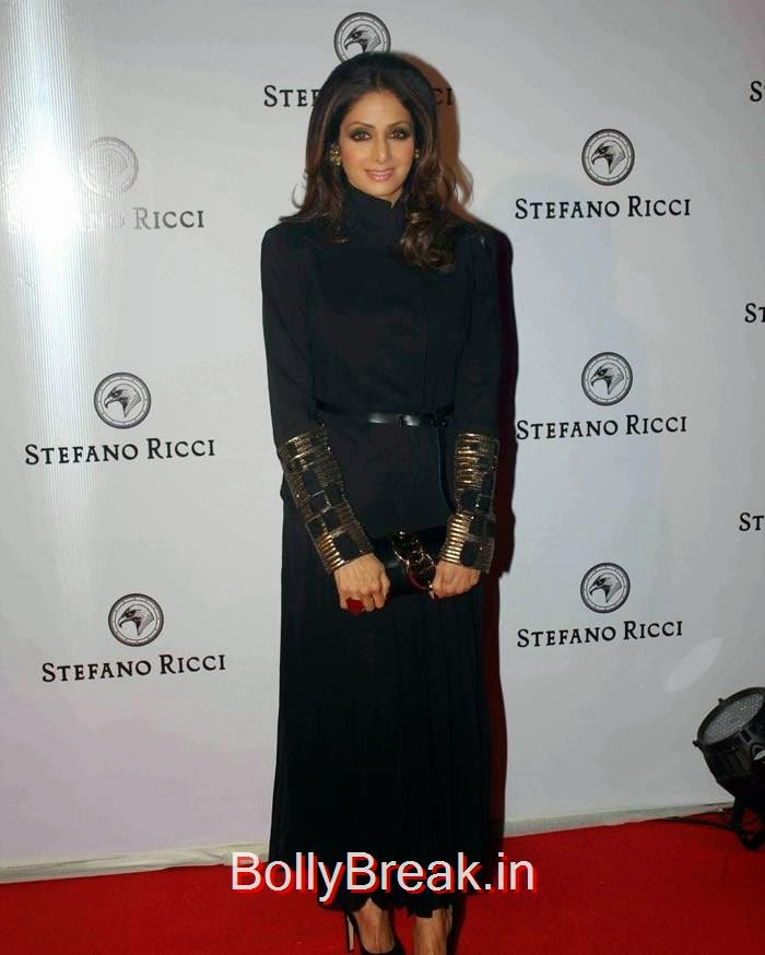 Sridevi, Sridevi Hot Images at The Launch of Stefano Ricci Flagship Store
