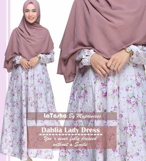 Gamis Latasha Dahlia Lady Dress