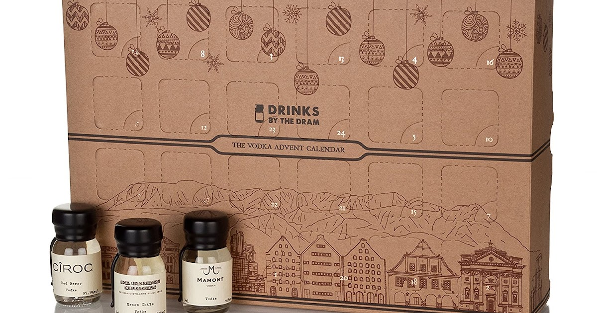 satchel drinks by the dram vodka advent calendar 2017