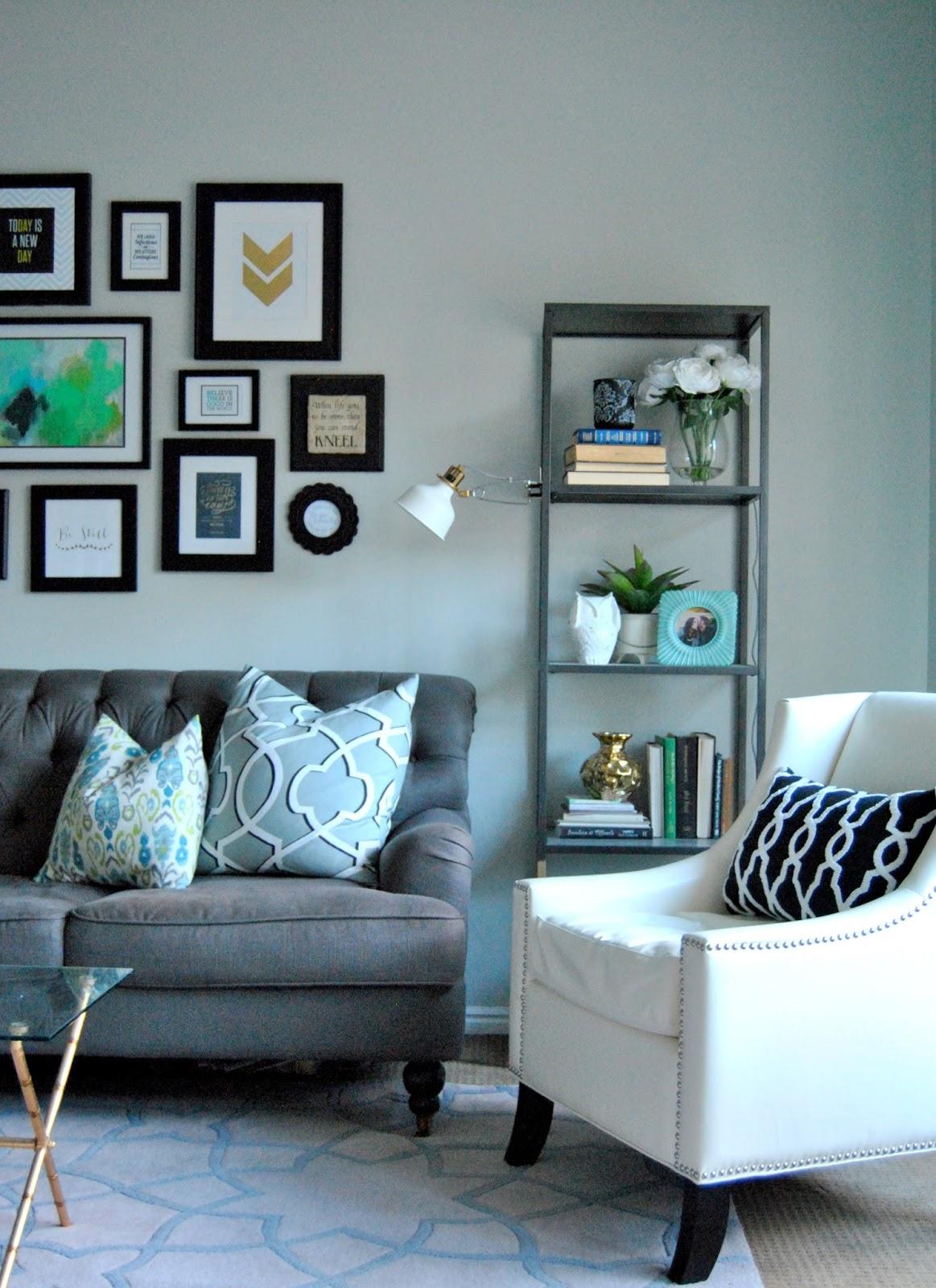 dark teal accent chair swing stand diy studio 7 interior design: black + white faves list