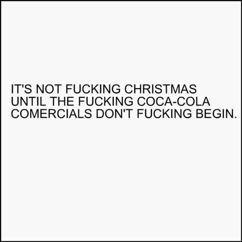 its not christmas
