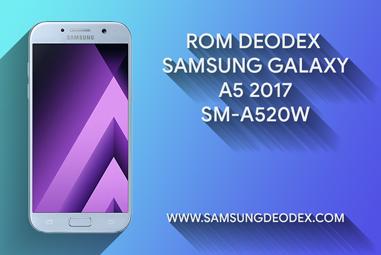 ROM DEODEX SAMSUNG A520W