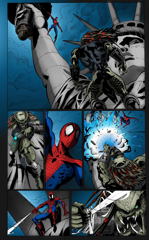 The gallery for --> Predator Vs Iron Man
