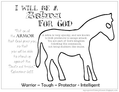 animal for God free printable coloring page