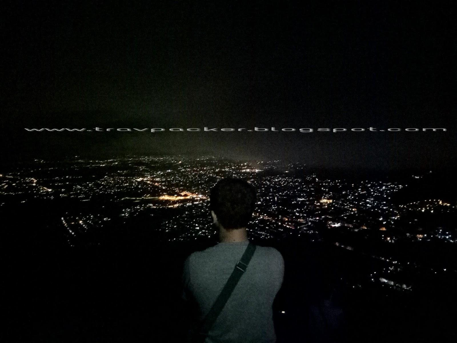 Malam Singkat Di Paralayang Gunung Banyak Dengan Menikmati Keindahan Kota Batu Malang Dari Ketinggian