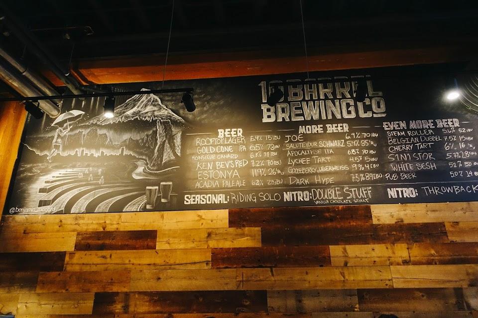 テン・バレル・ブリュー・パブ(10 Barrel Brew Pub)