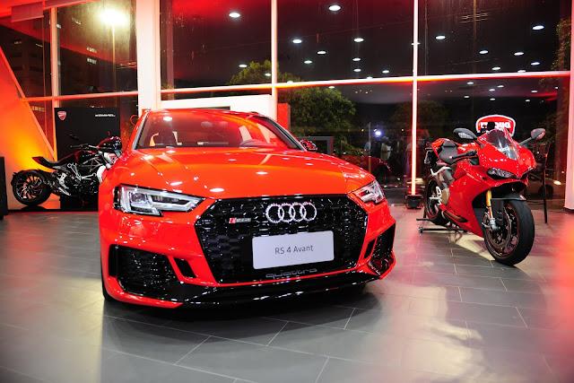 Audi e Ducati inauguram concessionária integrada em MS