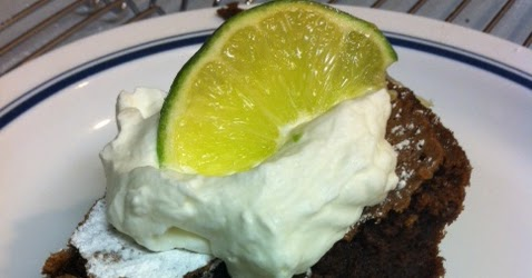 United Cakedom Flourless Chocolate Lime Cake With