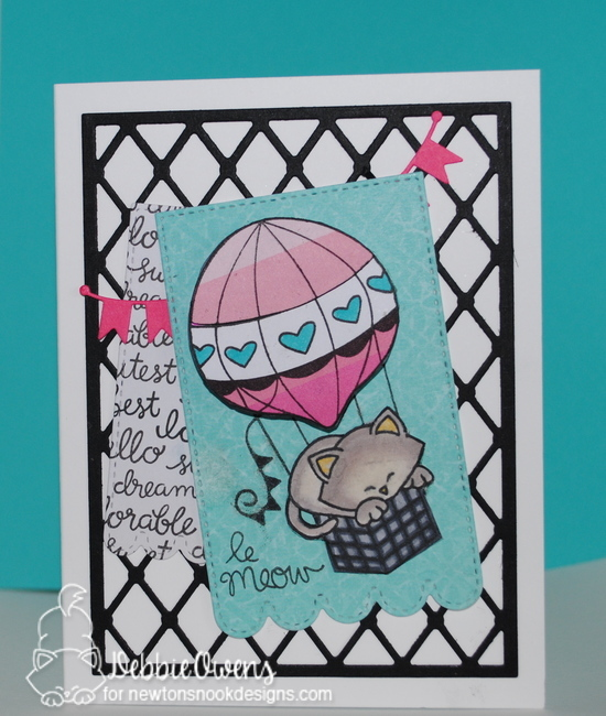 La meow by Debbie features Newton Dreams of Paris by Newton's Nook Designs; #newtonsnook