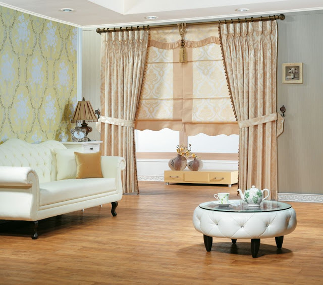 Elegant Modern Curtains Designs For Living Room