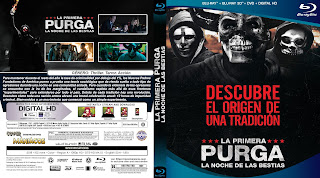 CARATULA LA PRIMERA PURGA - THE FIRST PURGE - 2018