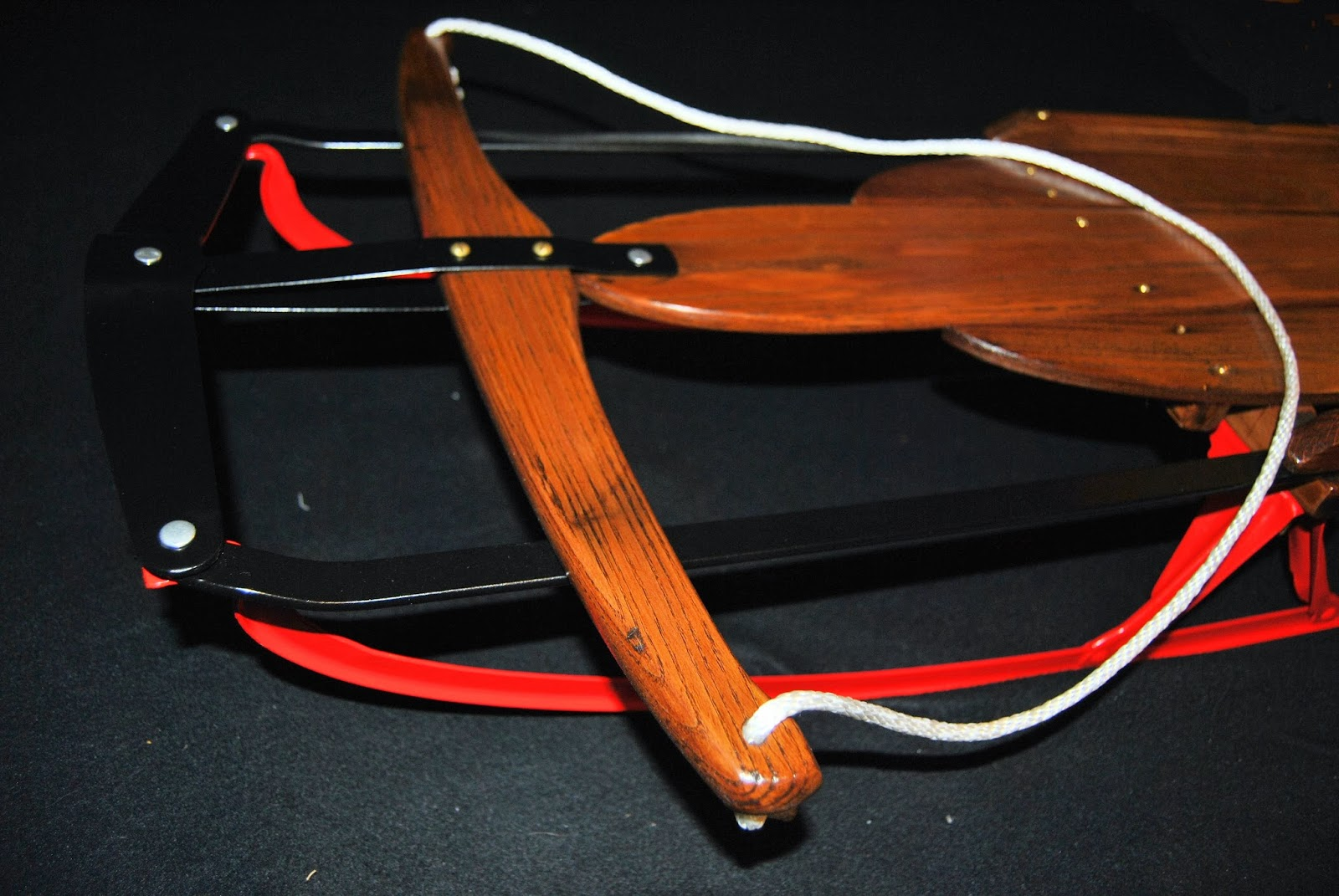 One Hot Crafty Momma Flexible Flyer Sled Restoration