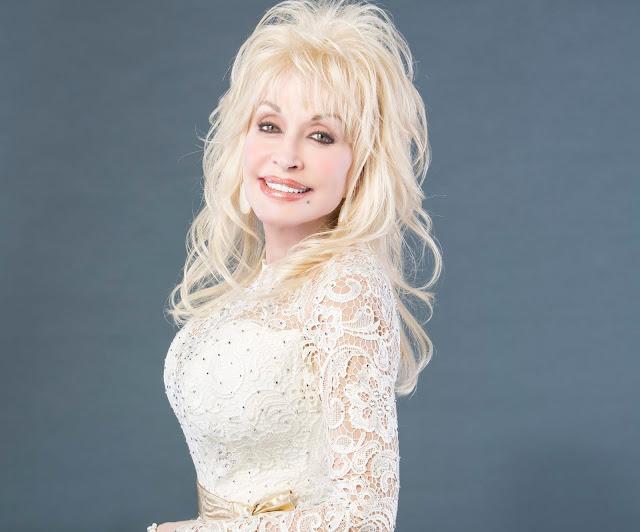 Dolly Parton al teatro en Londres.