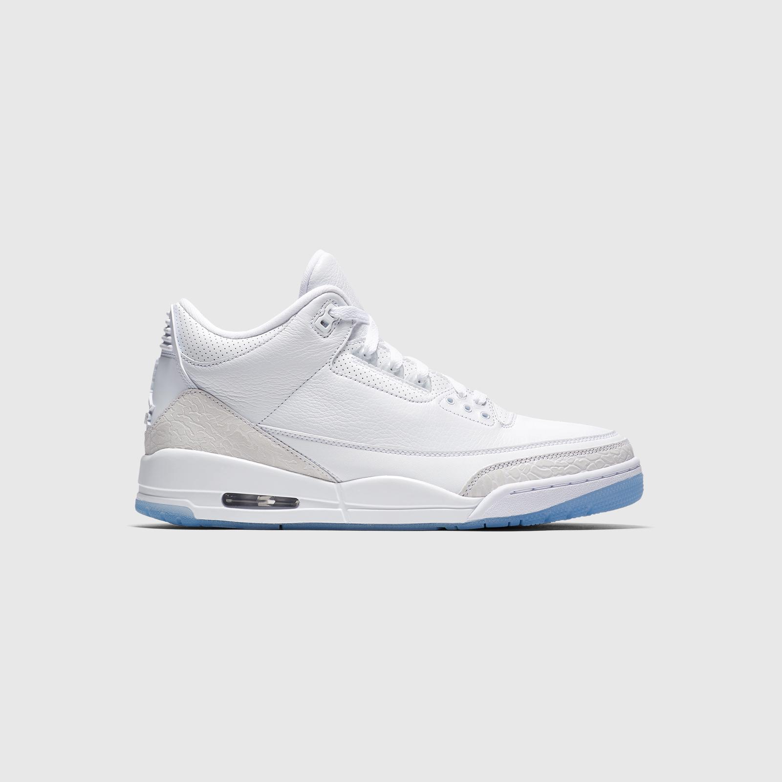 check out d6d1c 4e108 Air Jordan 3 Retro 'Pure White' Release Date