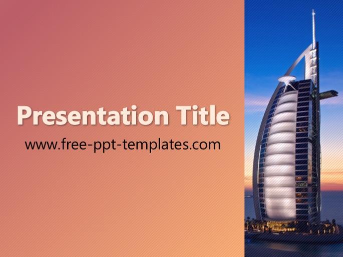 Dubai ppt template toneelgroepblik Image collections