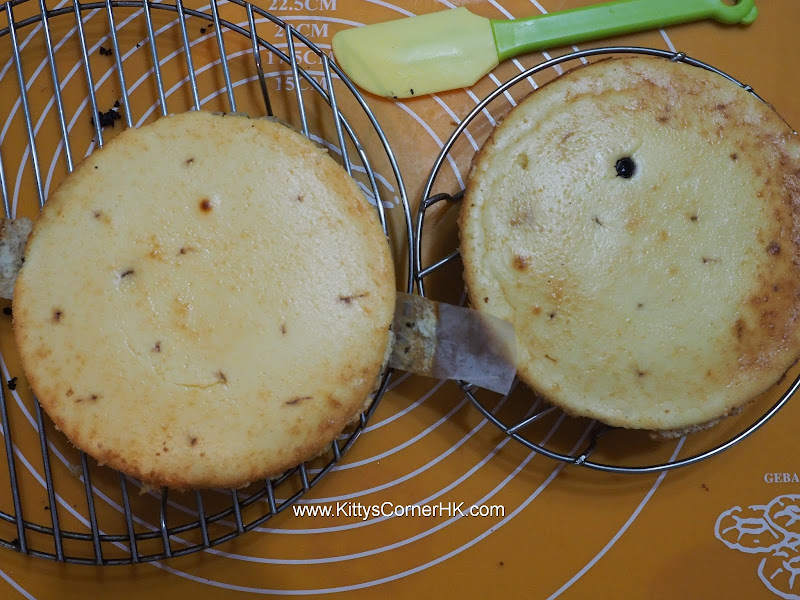 Baked Cheese Cake with Rum soaked Blueberry recipe 酒香藍梅芝士蛋糕食譜
