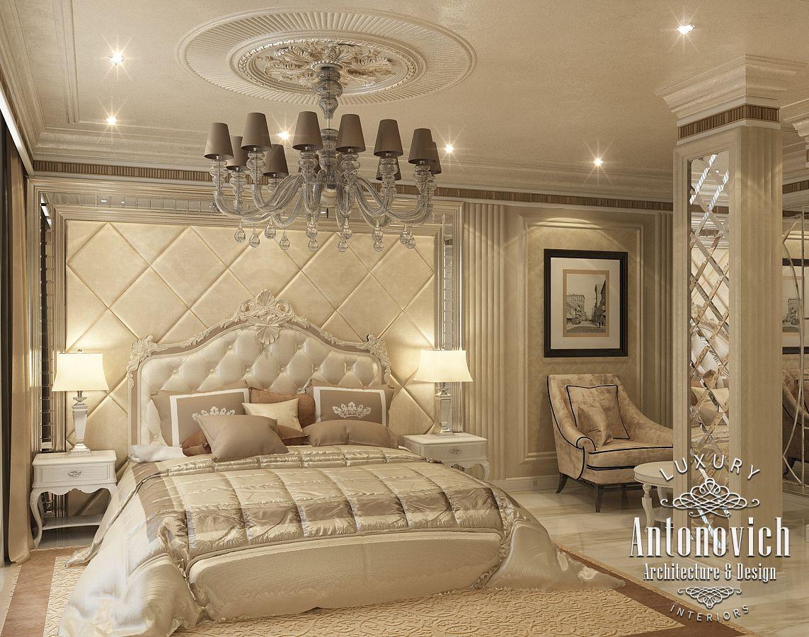Designer Luxury Bedroom: LUXURY ANTONOVICH DESIGN UAE: Master Bedroom From Katrina