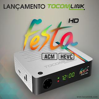 ATUALIZAÇÃO TOCOMLINK FESTA HD V1.59 - 19/04/2018